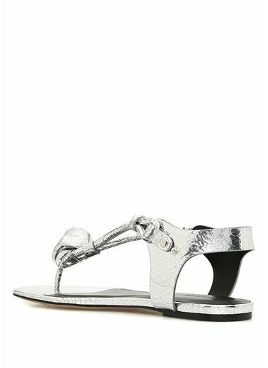 Etoile İsabel Marant Sandalet Gümüş